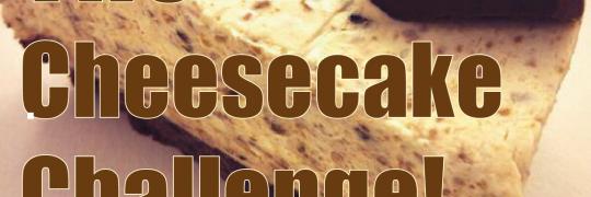 cheesecake challenge