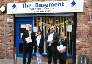Representatives from Ethecol and Handepay visit The Basement