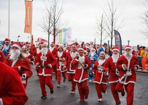 Liverpool Santa Dash December 7th 2014