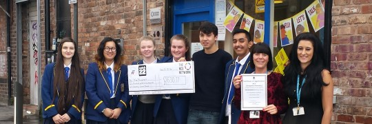 NCS group inspired by The Basement to fundraise for people in Liverpool less fortunate than themselves